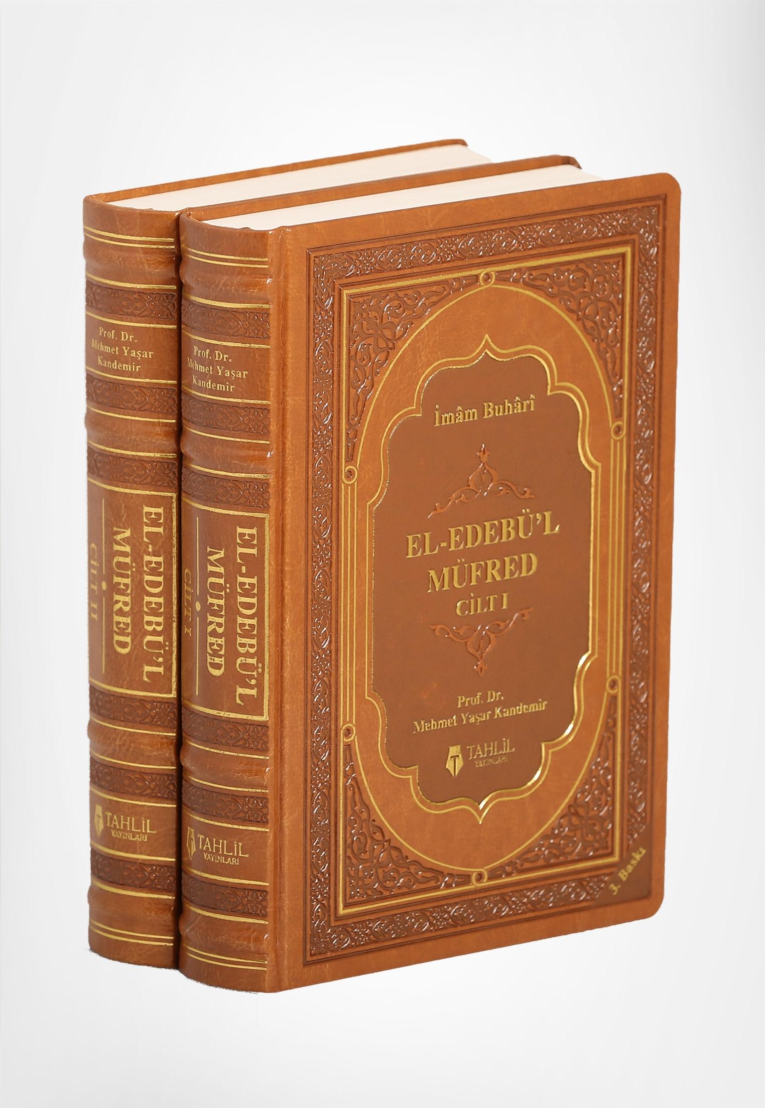 El-Edebü'l Müfred (2 Cilt Takım, Termo Deri, Ivory Kağıt)