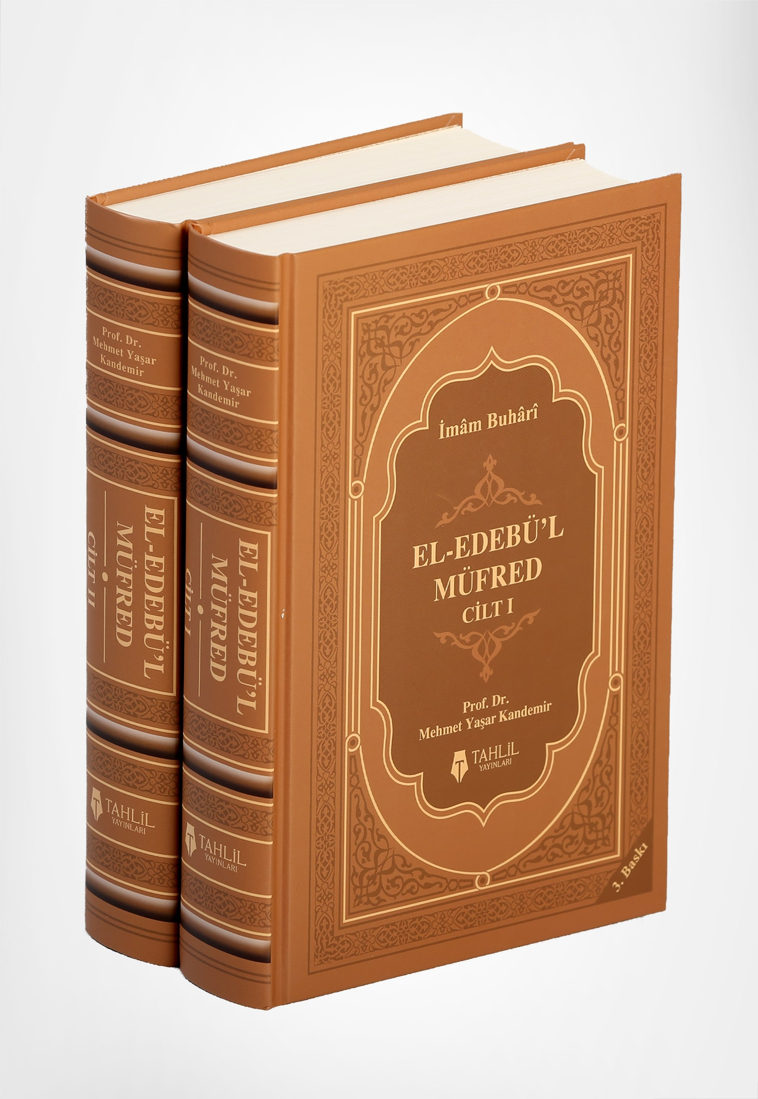 El- Edebü'l Müfred; (2 Cilt Takım, Kuşe Kapak, Ivory Kağıt)