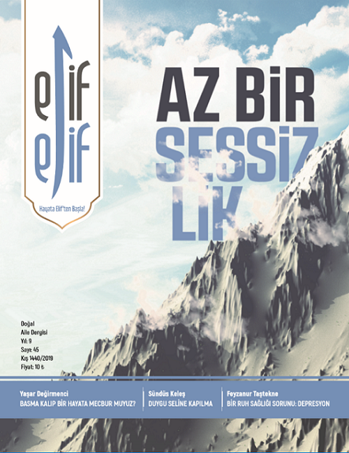ElifElif Dergisi - Sayı:45 - Az Bir Sessizlik