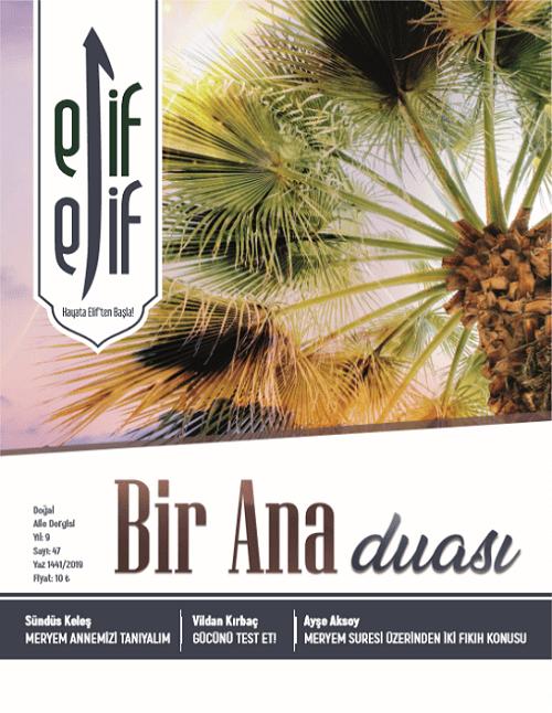 ElifElif Dergisi - Sayı:47 - Bir Ana Duası