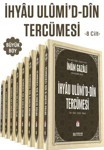 İhyau Ulumid'd-Din Tercümesi - 8 Cilt (Büyük Boy)