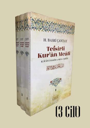 Tefsirli Kur'an Meali (3 Cilt Takım)