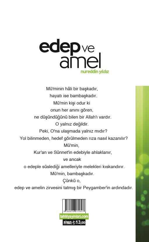 Edep ve Amel