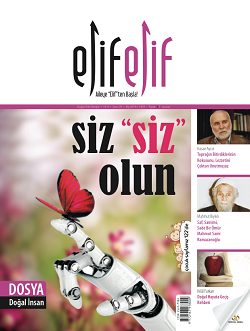 ElifElif Dergisi - Sayı:25 Siz Siz olun ( Doğal İnsan Sayısı )